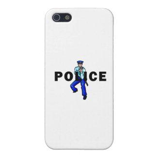 Het Logo van de Actie van de politie iPhone 5 Cover