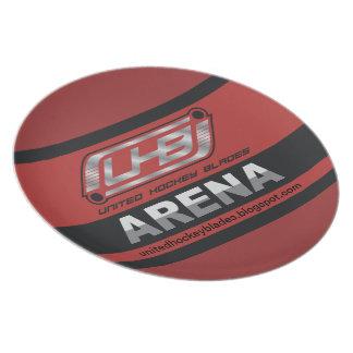 Het Logo van de Arena UHB Melamine+bord
