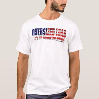 Het Logo van de Lading van sterren & van Strepen T Shirt