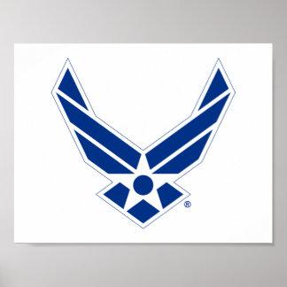 Het Logo van de Luchtmacht van Verenigde Staten - Poster