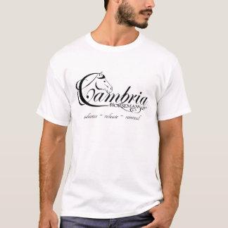 Het Logo van de Paardrijderskunst van Cambria T Shirt