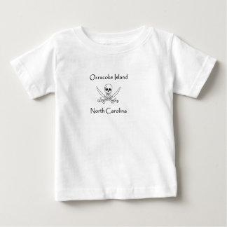 Het Logo van de Piraat van Noord-Carolina van het Baby T Shirts