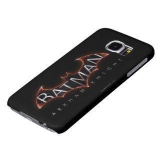 Het Logo van de Ridder van Batman Arkham Samsung Galaxy S6 Hoesje
