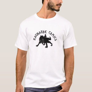 Het Logo van de Strippagina van Ragnarok T Shirt