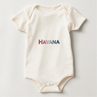 Het Logo van de Tekst van Havana Baby Shirt
