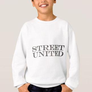 Het logo van het asfalt trui