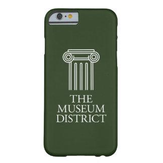 Het logo van het District van het Museum Barely There iPhone 6 Hoesje