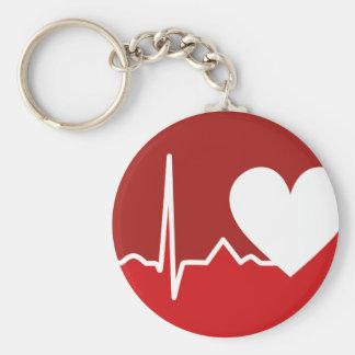 Het Logo van het hart Sleutelhanger