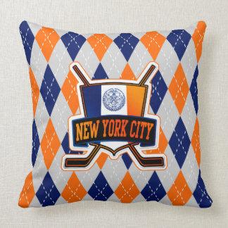 Het Logo van het Hockey van de Stad van New York Sierkussen