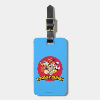 Het Logo van het Karakter LOONEY TUNES™ Kofferlabels