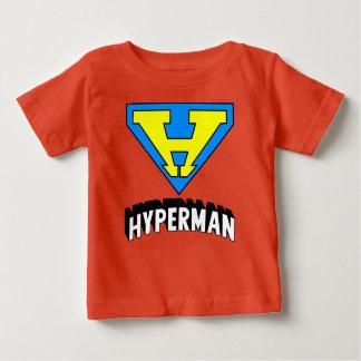 Het logo van Hyperman Baby T Shirts