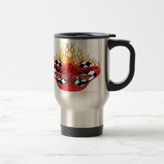 Het logo van Kulture van de gier met vlammen en Reisbeker