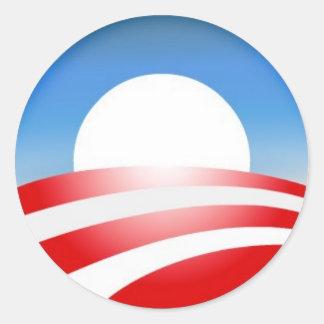 Het Logo van Obama Ronde Sticker