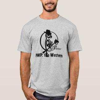 Het Logo van PWP 2015 - Zwart Mannen T Shirt