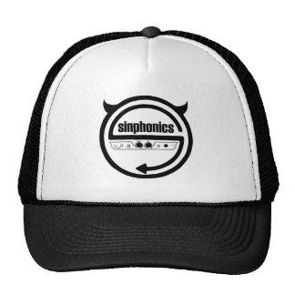 Het logo van Sinphonics bij het pet