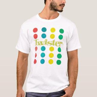 Het Logo van Twister in de Mat van het Spel T Shirt