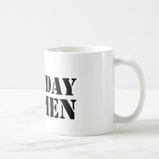 Het logomok van het Man van de maandag Koffiemok