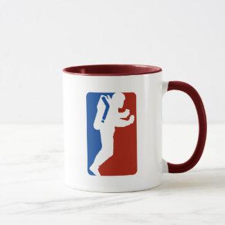 Het logostijl van de liga mok