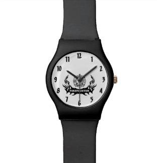 Het logotrots van de brandbestrijder horloge
