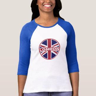 Het LONDEN Geïnspireerde GRAFISCHE T-shirt van de