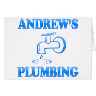Het Loodgieterswerk van Andrew Briefkaarten 0