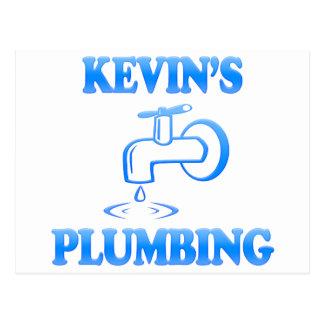 Het Loodgieterswerk van Kevin Briefkaart
