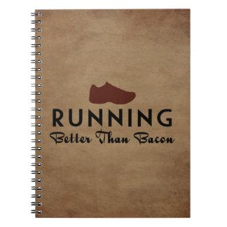 Het lopen dan beter Bacon Ringband Notitieboek