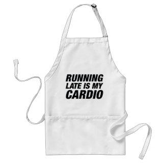 Het lopen laat is Mijn Cardio Standaard Schort