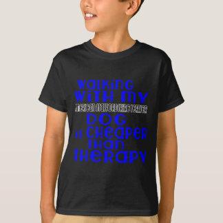 Het lopen met Mijn Amerikaanse Staffordshire T Shirt