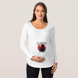 Het lopen uit van het Overhemd van het Moederschap Zwangerschapskleding