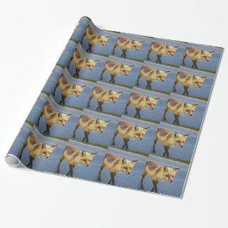 Het Lopen van de vos Inpakpapier