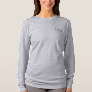 Het lopen ~Wisdom van de T-shirt