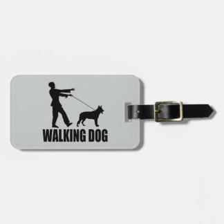 Het lopende Label van de Bagage van de Hond Bagagelabel