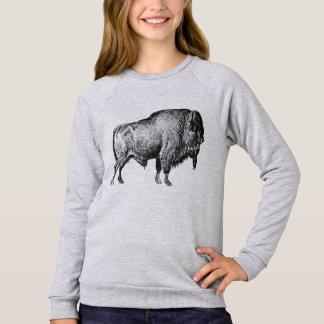 Het lopende T-shirt van de Meisjes van Buffels
