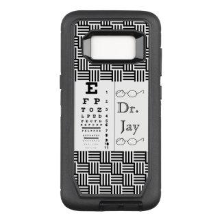Het Lot van het Lot van het Oog van de Oftalmoloog OtterBox Defender Samsung Galaxy S8 Hoesje