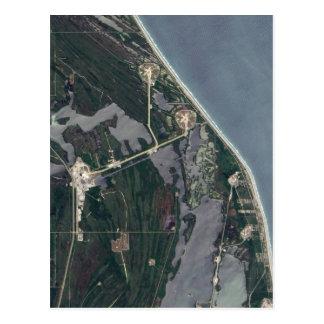Het LuchtSchot van Canaveral van de kaap Briefkaart