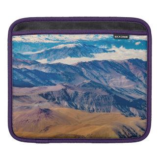 Het LuchtUitzicht van de Bergen van de Andes, iPad Beschermhoes
