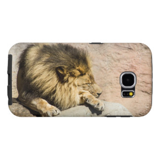 Het luie Hoesje van de Telefoon van de Leeuw