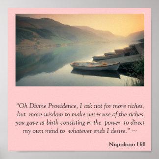Het Magische Gebed van de Heuvel van Napoleon Poster