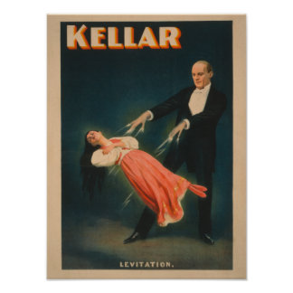 Het Magische Poster van de Levitatie van Kellar #2
