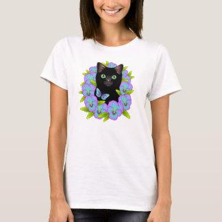 Het magische Zwarte overhemd van de Vlinder van T Shirt