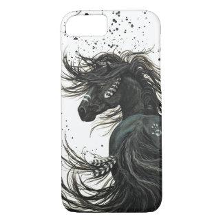 Het majestueuze Paard van de Mustang door BiHrLe iPhone 8/7 Hoesje