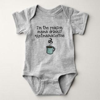 het mamma drink koffie romper