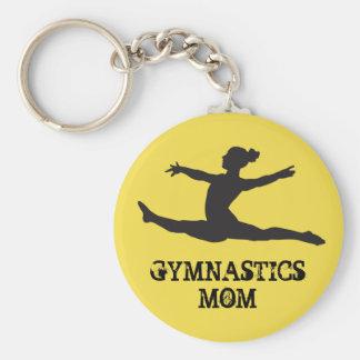 Het Mamma Keychain van de gymnastiek Sleutelhanger