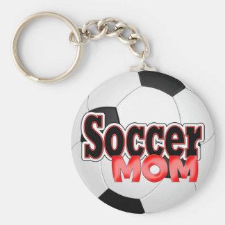Het Mamma Keychain van het voetbal Sleutelhanger