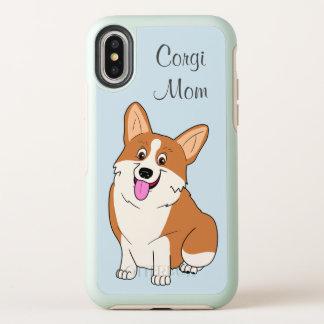 Het Mamma van Corgi OtterBox Symmetry iPhone X Hoesje
