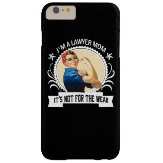 Het Mamma van de advocaat - niet voor zwak Barely There iPhone 6 Plus Hoesje