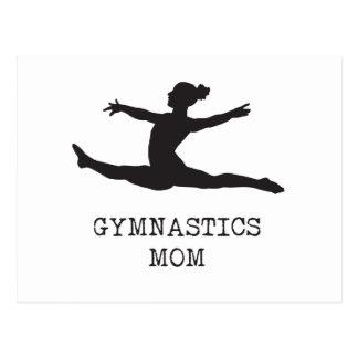 Het Mamma van de gymnastiek Briefkaart