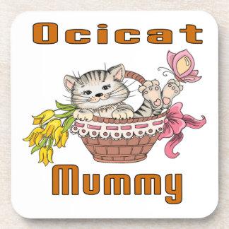 Het Mamma van de Kat van Ocicat Bier Onderzetters
