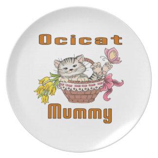 Het Mamma van de Kat van Ocicat Bord
